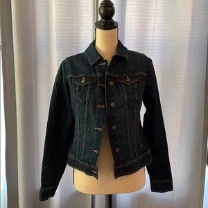 NWOT Old Navy Dark Wash Denim Jacket